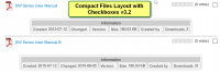 Compact Files Layout with Checkboxes v3.2
